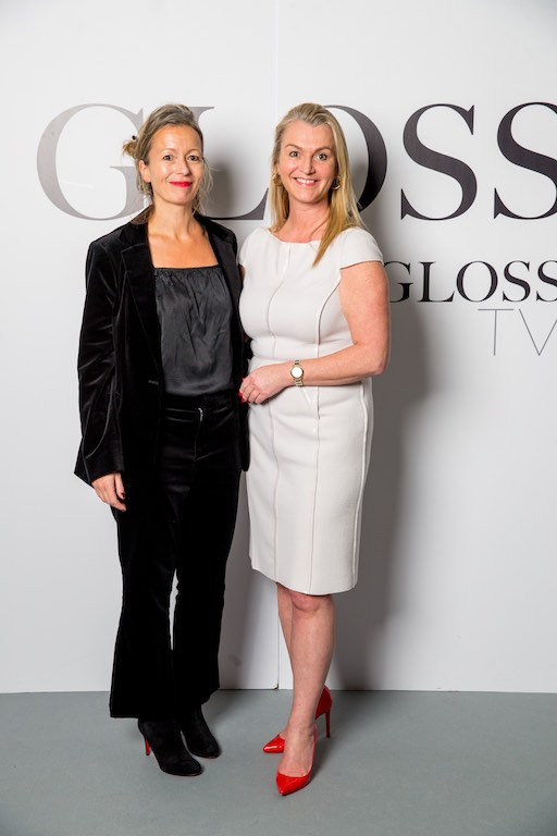 Sarah Halliwell and Tracy Ormiston, THE GLOSS Magazine