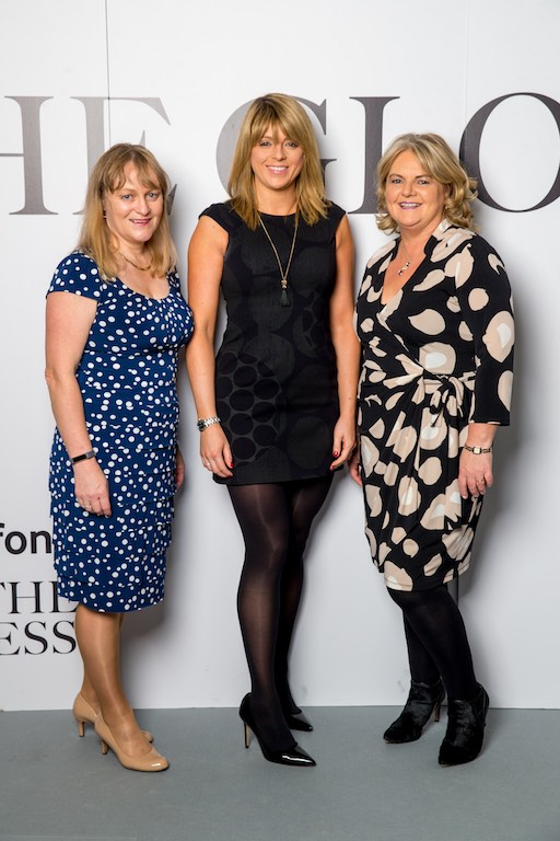 Fionnuala Keary, Investec, Lisa Stout and Nancy Egan, Investec