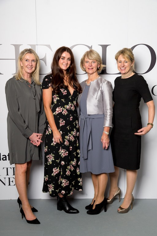 Lyn Foley, IFT Ltd, Michelle Doyle Nova UCD, Anne Harper CHL and Tracy O'Rourke, Vivid Edge