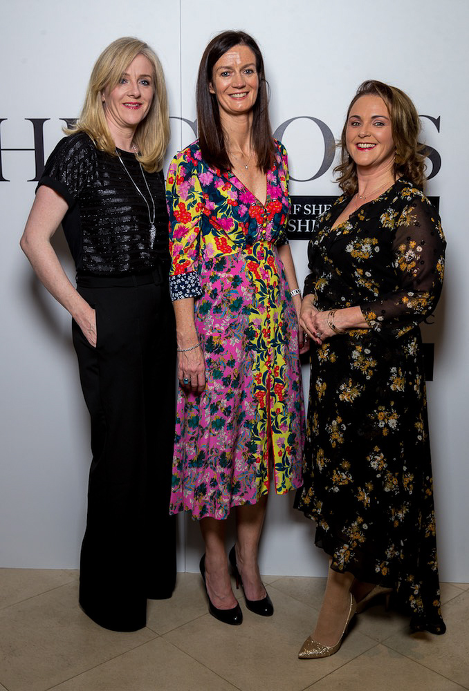 Laura Lynch, Dolores Geaney and Rosalind Teskey, Investec